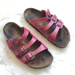 56106361b19d Birkenstock fruit punch pink color sandals size 37